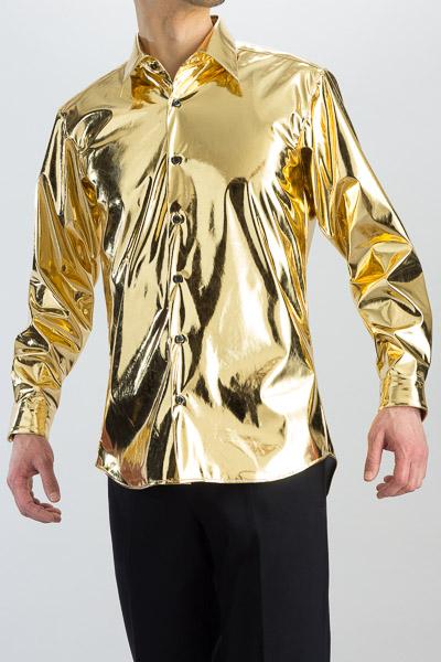 メタリックシャツ ゴールド 販売店