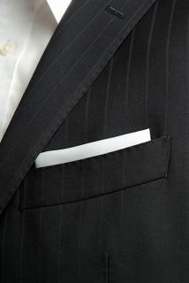 白いポケットチーフ-ジャニーズWESTおーさか☆愛・EYE・哀