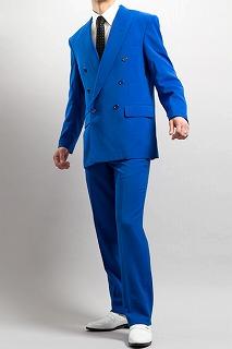 ブルースーツ 藤井さん着用カラー