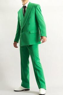 グリーンスーツ 神山さん着用カラー