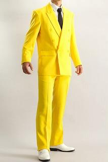 イエロースーツ 中間さん着用カラー