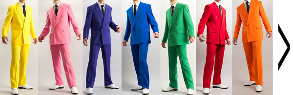 カラースーツ