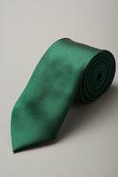 サテンネクタイ37色 モスグリーン