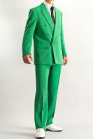 カラースーツ ダブル グリーン