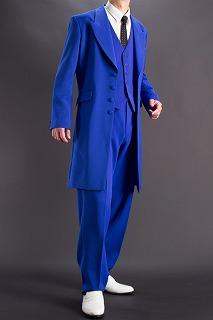 青いズートスーツ