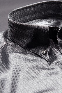 シャドーストライプ ボタンダウンシャツ