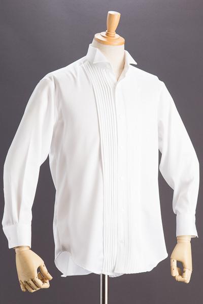 ウイングカラーシャツホワイト