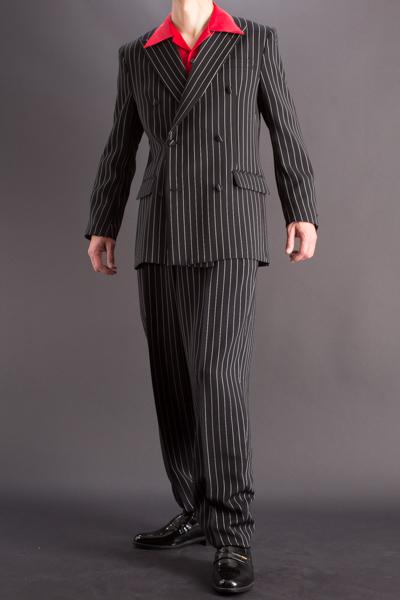バギースーツ・baggy suit ペンシルストライプ