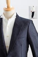 バラ模様シングルジャケット