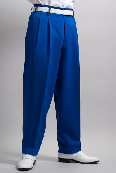 ズートパンツ・zoot pants ブルー