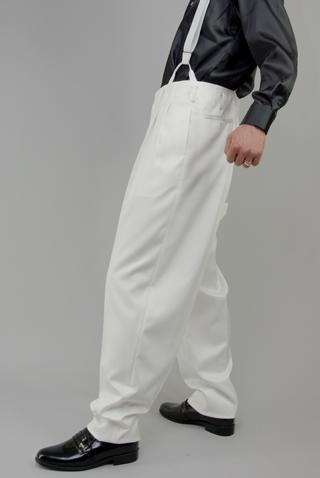 ズートパンツ・zoot pants ホワイト