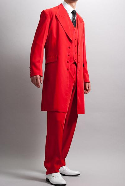 ズートスーツ・zoot suit  レッド