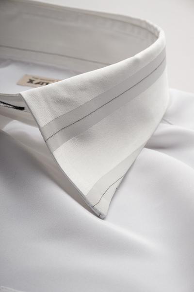 クレリックレギュラーカラーシャツ #4628 ホワイト