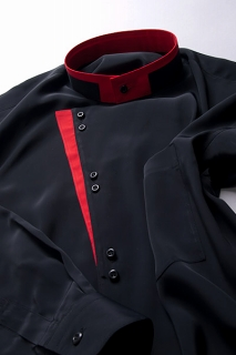 KCタイプ スタンドカラーシャツ