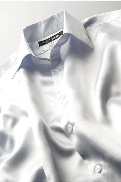 サテンシャツシルバー #05