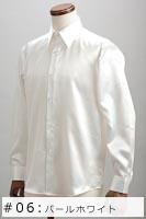 サテンシャツパールホワイト #06の画像