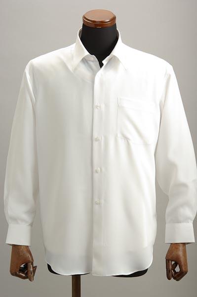 レギュラーカラーシャツ ホワイト