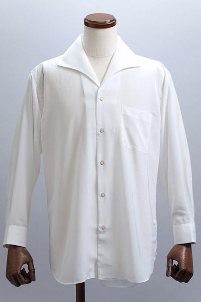 イタリアンカラーシャツ ホワイト