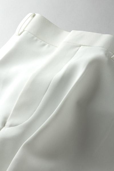 フレアパンツ #410 ホワイト