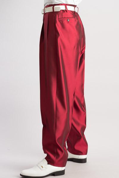 ズートパンツ ・zoot pants シャンブレーワインレッド #213