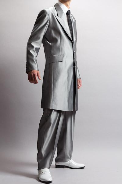 ズートスーツシルバー
