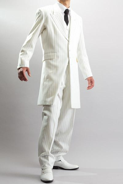 ロングズートスーツ ホワイト