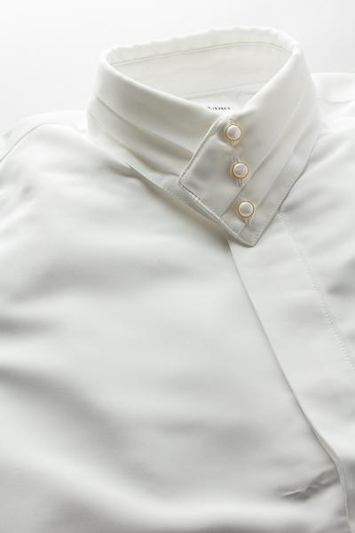 デザインカラー3つボタンシャツ #a261 ホワイト