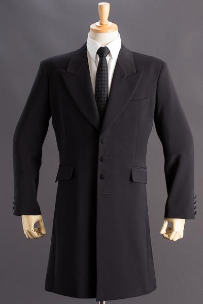 ロングジャケット・Zoot Jacket  ブラック #30002