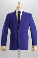 紫色ジャケット