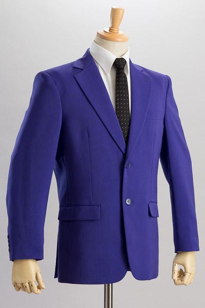 パープルカラーのジャケット