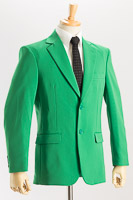 緑色ジャケット