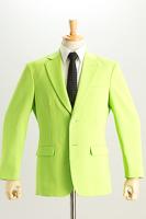 黄緑色ジャケット