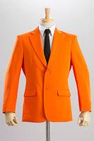オレンジ色ジャケット