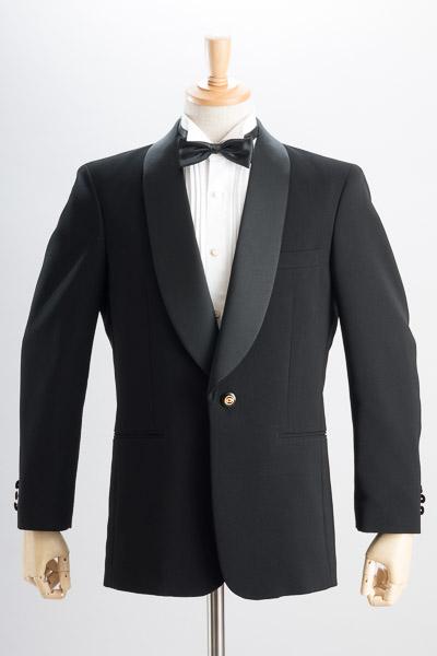 タキシードジャケット 『サイドベンツ』 ブラック