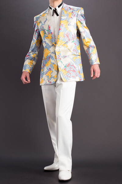 デザインジャケット #755 ブルーイエロー
