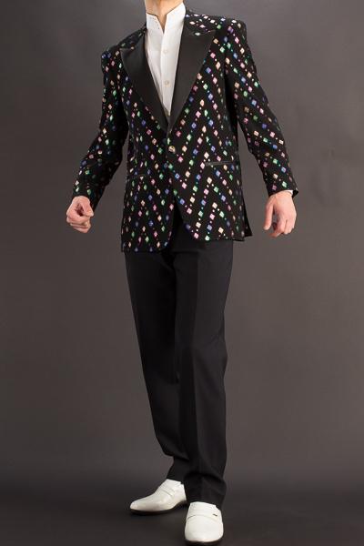 デザインジャケット #756 ブロックラメ