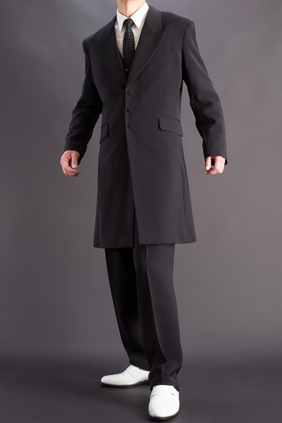 ズートスーツ・zoot suit #30002 ブラック