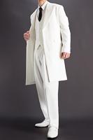 白いズートスーツ