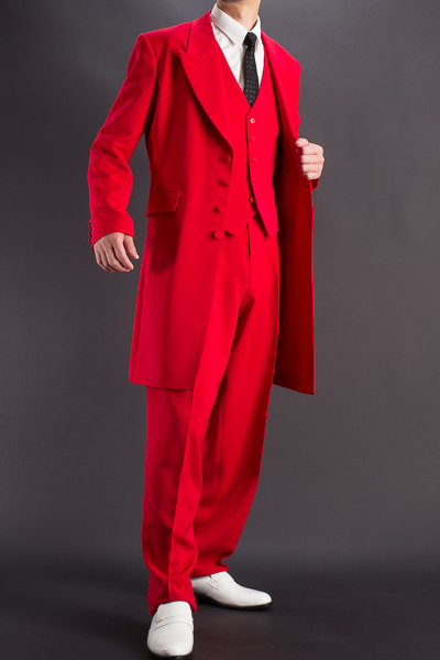 ズートスーツ・zoot suit #30002 レッド