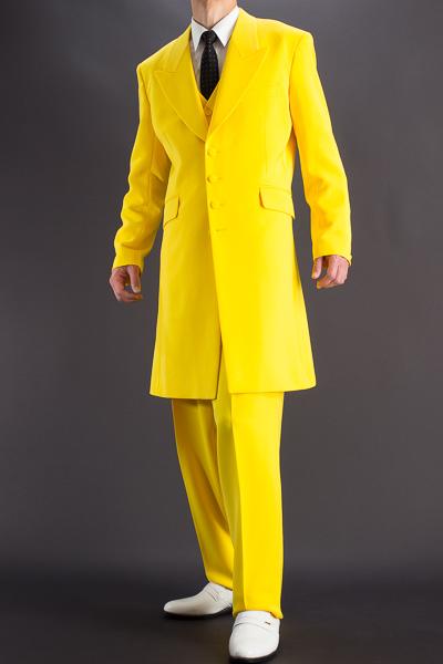 ズートスーツ・zoot suit #30002 イエロー