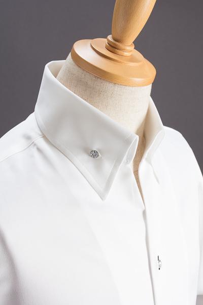 イタリアンカラーシャツ #033 ホワイト