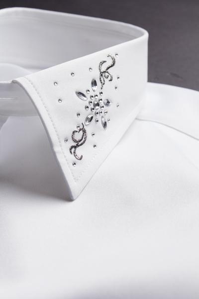 デザインカラーシャツ #740  ホワイト
