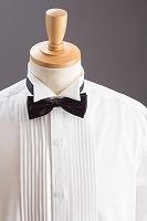 ウイングカラーシャツ 蝶ネクタイ用シャツ