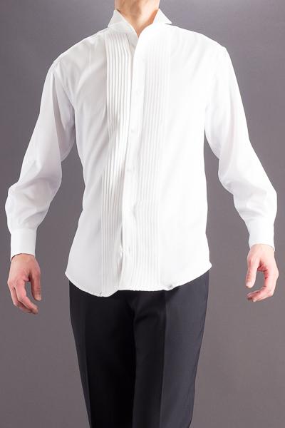 ウイングカラーシャツ
