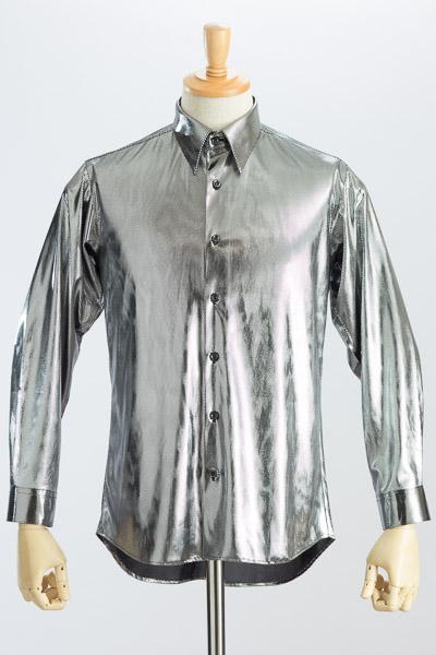 メタリックシャツブラック #KB0001