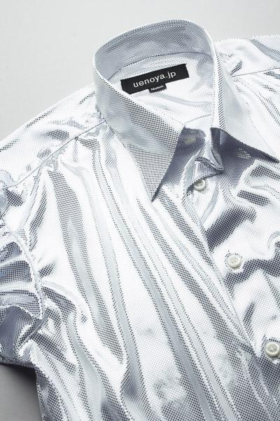 メタリックシャツホワイト #KB0001