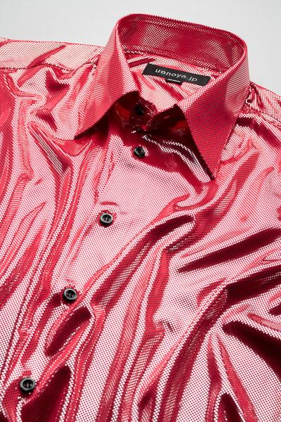 メタリックシャツレッド #KB0001