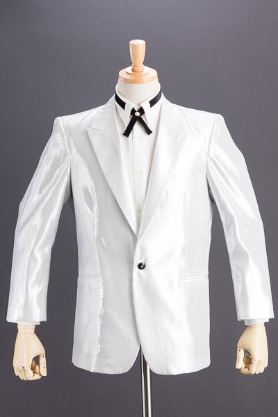 ホワイトシルバーラメジャケット