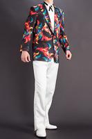 虹色のジャケット