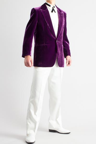 ラメベルベットジャケット #509 パープル